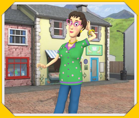 Pontypandy - Sam le pompier personnages ...